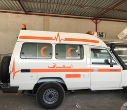 Standard Ambulance Toyota from DAZZLE UAE