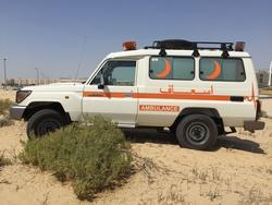 Brand New Toyota Land Cruiser Ambulance from DAZZLE UAE