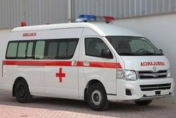 Ambulance Toyota Hiace High Roof from DAZZLE UAE