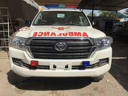 Ambulance Toyota Land Cruiser 200  from DAZZLE UAE