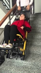 Motorized Stair Chair from KREND MEDICAL EQUIPMENT TRADING LLC