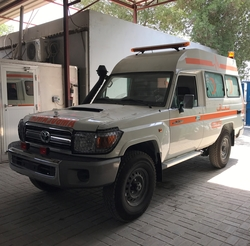 VDJ78 AMBULANCE HIGH ROOF from DAZZLE UAE