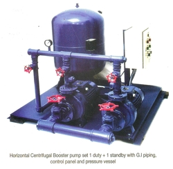 BOOSTER PUMPs HORIZONTAL & VERTICAL from LEADER PUMPS & MACHINERY - L L C