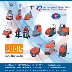 Roots Multiclean In Uae from DAITONA GENERAL TRADING (LLC)