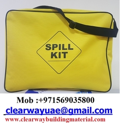 OIL SPILL KITS BAG IN MUSAFFAH , ABUDHABI , UAE from CLEAR WAY BUILDING MATERIALS TRADING