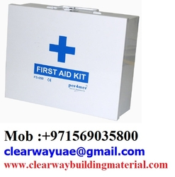 FIRST AID BOXES IN MUSAFFAH , ABUDHABI , UAE from CLEAR WAY BUILDING MATERIALS TRADING
