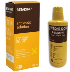 Betadine Antiseptic Solution 120ml from ARASCA MEDICAL EQUIPMENT TRADING LLC