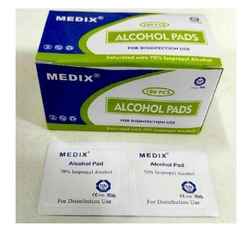 Alcohol pre pad pk 100.  from ARASCA MEDICAL EQUIPMENT TRADING LLC