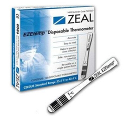 EZETEMP Disposable Thermometer from ARASCA MEDICAL EQUIPMENT TRADING LLC