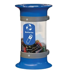 Battery Recycling Bin - Blue from SKY STAR HARDWARE & TOOLS L.L.C