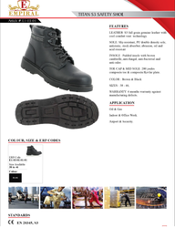 TITAN - SHOES from SAMS GENERAL TRADING LLC