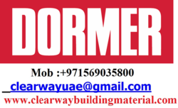 DORMER PRODUCTS DEALER IN MUSAFFAH , ABUDHABI , UAE from CLEAR WAY BUILDING MATERIALS TRADING