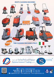 Commercial Cleaning Equipments In Uae  from DAITONA GENERAL TRADING (LLC)