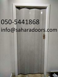 pvc folding doors in dubai from SAHARA DOORS & METALS LLC