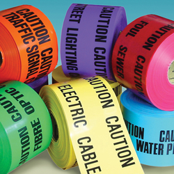Warning Tape Supplier from ONTIDES INTERNATIONAL FZC