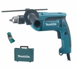 Makita Percussion Drill (680W) + 19 Piece HSS-R Metal Drill Bit Set from AL FUTTAIM ACE