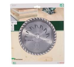 Bosch Precision Series Circular Saw Blade 184 x 2 x 16mm Z4 from AL FUTTAIM ACE