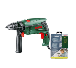 Bosch 530W Impact Drill Mixed Set