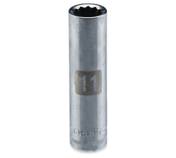 Craftsman Deep Socket Drive (11 mm, 12 pt., 9.5 mm) from AL FUTTAIM ACE