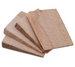 Suki Wooden Wedges (8.5 mm, 4pc.) from AL FUTTAIM ACE
