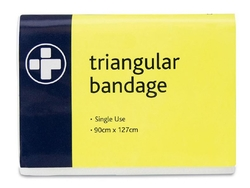Triangular Bandage 90cm x 127cm Single Use  411 from ARASCA MEDICAL EQUIPMENT TRADING LLC