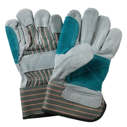 Double Palm Leather Gloves in Dubai from ORIENT GENERAL TRADING