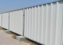 Profiled Sheet Hoarding Fence Suppliers in DUBAI