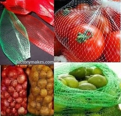 Plastic Net Net bags  for fruits and vegetablesPlastic Net Net bags  for fruits and vegetables from SB GROUP FZE