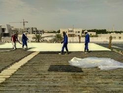 waterproofing in uae  from WHITE METAL CONTRACTING LLC