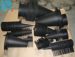 Carbon steel conical strainer from WEB WIRE MESH COMPANY LIMITED