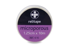 Relitape Microporous Tape 1.25 x 10m from ARASCA MEDICAL EQUIPMENT TRADING LLC
