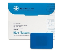 Dependaplast Blue Food Area 7.5cm x 5cm Box of 50  from ARASCA MEDICAL EQUIPMENT TRADING LLC