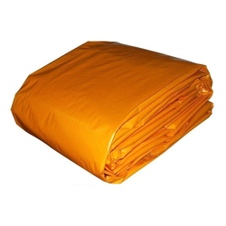 PVC ORANGE Tarpaulin sheet suppliers in Qatar from AERODYNAMIC TRADING CONTRACTING & SERVICES , QATAR / TELE : 33190803 / SARATH@AERODYNAMIC.QA