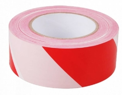 RED AND WHITE Warning Tape suppliers in Qatar