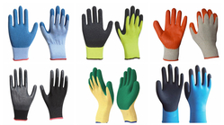 Latex Coated Hand Glove suppliers in Qatar from RALEON TRADING WLL , QATAR / TELE : 30012880 / SAQIB@RALEON.ME