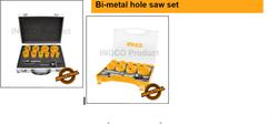 Bi-metal hole saw set suppliers in Qatar from MEP SOLUTION PROVIDER IN QATAR