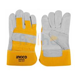 Cow split leather gloves suppliers in Qatar from RALEON TRADING WLL , QATAR / TELE : 30012880 / SAQIB@RALEON.ME