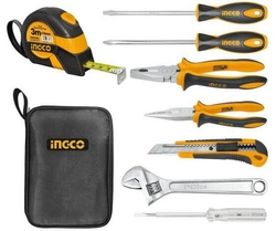 8 pcs Hand Tools set suppliers in Qatar from AERODYNAMIC TRADING CONTRACTING & SERVICES , QATAR / TELE : 33190803 / SARATH@AERODYNAMIC.QA