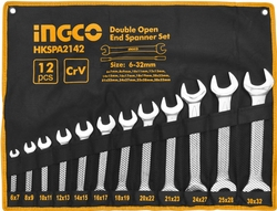 12 pcs Double open end spanner set suppliers in Qatar from MEP SOLUTION PROVIDER IN QATAR