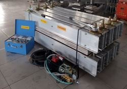 CONVEYOR BELT VULCANIZING MACHINE from GULF ENGINEER GENERAL TRADING LLC
