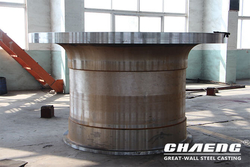 Ball mill trunnion, ball mill head cover
