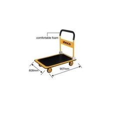 Foldable Platform Hand Truck suppliers in qatar from AERODYNAMIC TRADING CONTRACTING & SERVICES , QATAR / TELE : 33190803 / SARATH@AERODYNAMIC.QA