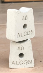 Fiber Spacer Blocks Supplier in UAE from ALCON CONCRETE PRODUCTS FACTORY LLC