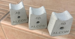 Fiber Spacer Blocks manufacturer in UAE from ALCON CONCRETE PRODUCTS FACTORY LLC