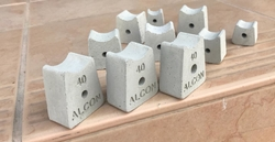 PVC Spacer & Concrete Spacer Supplier in Sharjah from ALCON CONCRETE PRODUCTS FACTORY LLC