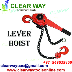 LEVER HOIST DEALER IN MUSSAFAH , ABUDHABI ,UAE from CLEAR WAY BUILDING MATERIALS TRADING