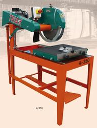 Block cutting, Kerbstone cutting machine