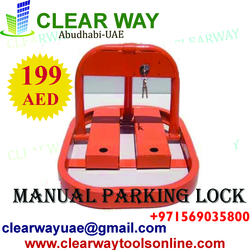 MANUAL PARKING BARRIER / LOCK DEALER IN MUSSAFAH , ABUDHABI , UAE from CLEAR WAY BUILDING MATERIALS TRADING