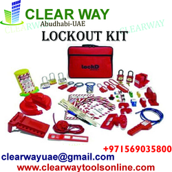 LOCKOUT KIT DEALER IN MUSSAFAH , ABUDHABI ,UAE from CLEAR WAY BUILDING MATERIALS TRADING