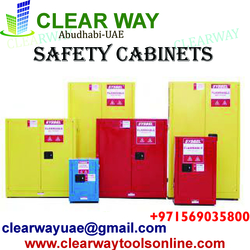 SAFETY CABINETS DEALER IN MUSSAFAH , ABUDHABI , UAE from CLEAR WAY BUILDING MATERIALS TRADING
